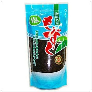 【沖縄産 もずく】沖縄塩もずく500g老眼回復エクササイズ|kodawariokinawa