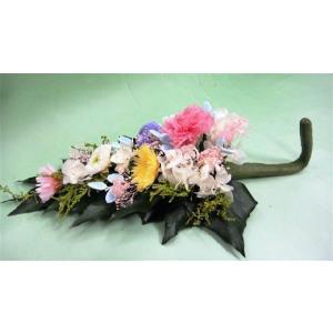 仏花 オールプリザーブドの3色マム仏花 選べる...の詳細画像1