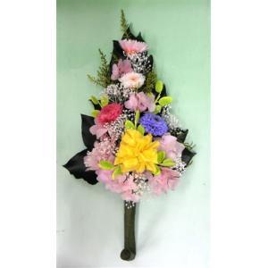 仏花 オールプリザーブドの3色マム仏花 選べる...の詳細画像2