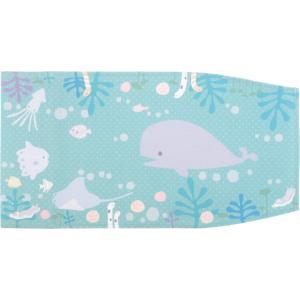 ブックカバー 文庫本サイズ クジラ < いきものシリーズ>|kodo-goods-store