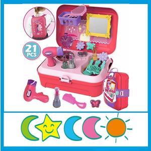 CORPER TOYS おままごと お化粧 ごっこ遊び メイクセット メイクアップ 女の子 プリンセス ドレッサー ボックス