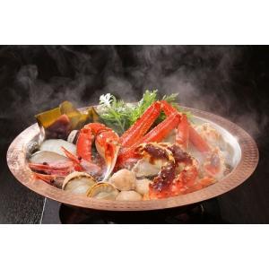 北海の恵みをたっぷり盛り込んだ豪華かにちり鍋セット。冬の味覚をご堪能ください。  ※11月〜3月限定...
