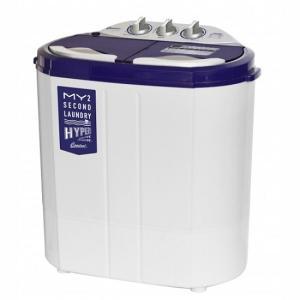 洗濯機 マイセカンドランドリー ハイパー 二槽式 糸くずフィルター コンパクト 洗浄 脱水 給水ホー...