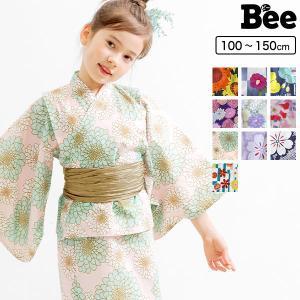 浴衣3点セット 韓国子供服 韓国子ども服 韓国こども服 Bee 女の子 夏 100 110 120 130 140 150 カラバリ|kodomofuku-bee