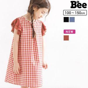 ノースリーブワンピース 韓国子供服 韓国子ども服 韓国こども服 Bee 女の子 春 夏 100 110 120 130 140 150 kodomofuku-bee