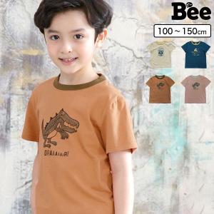 プリントTシャツ 半袖 子供服 子ども服 韓国こども服 Bee 女の子 春 夏 100 110 120 130 140 150 トップス カラバリ|kodomofuku-bee