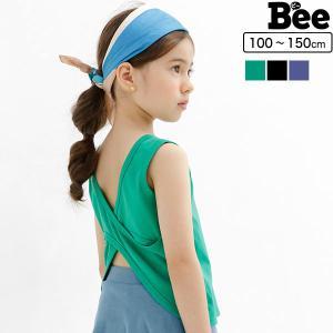 ノースリーブ 韓国子供服 韓国子ども服 韓国こども服 Bee 女の子 春 夏 100 110 120 130 140 150|kodomofuku-bee