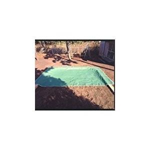 ご家庭用 お砂場メッシュシート 1mm グリーンサンドバッグ付き 日本製 *犬猫の侵入を防ぎ雨水のたまらないシート|kodomor