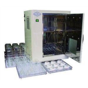 哺乳びん用熱風消毒保管庫 24本入り クリアベビーボトル  CBB2400 熱方式|kodomor