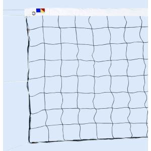 ソフトバレーボールネット 検定S60 黒 日本製 日本バレーボール協会公認品 kodomor