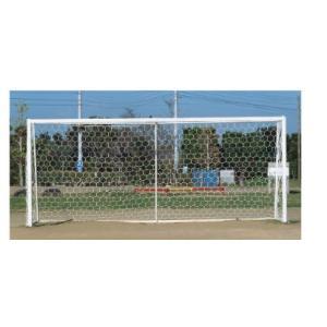 サッカー 少年用ランバスサッカーゴールネット ランバス六角目 2枚組  日本製 ボールの衝撃を吸収する六角目ネットランバスネット kodomor