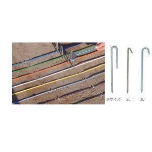 ラインロープ釘 クギ  M型 101本入り  一般グランド用|kodomor