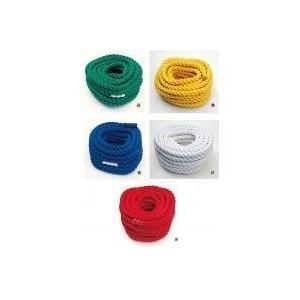 綱引きロープ 直径3cm×長さ20m  日本製 色をお選びください(赤、緑、白、黄、青) |kodomor