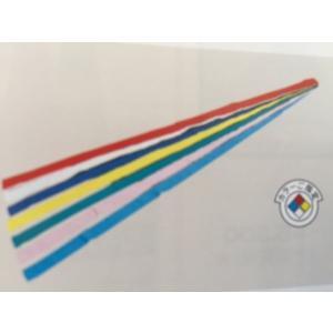 運動会用品 カラータスキ 黄 10本セット   150cm×6cm