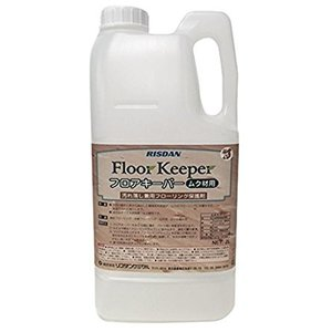 業務用高級ワックス 家庭用サイズ  フロアキーパー 2L  日本製 天然由来成分の、汚れ落とし兼フローリング保護剤|kodomor