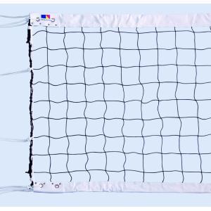 ビーチバレーボールネット 検定SS  日本製 日本バレーボール協会公認 ワイヤーの種類をお選びください|kodomor