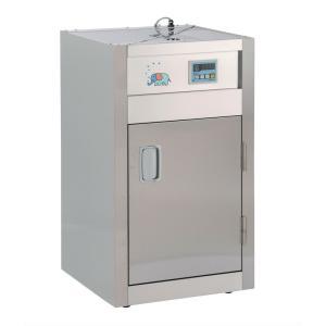 2カゴ熱風消毒保管庫 20人以下 小規模施設用 卓上にも置けます 食育熱風食器器具消毒保管庫 保育学校用品|kodomor