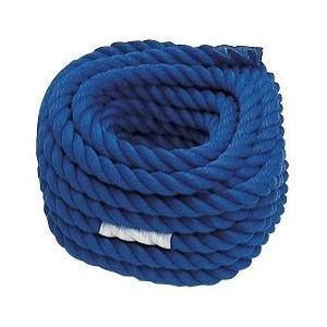 綱引きロープ 青 直径30×長さ20m    日本製  長さは特注承ります。|kodomor