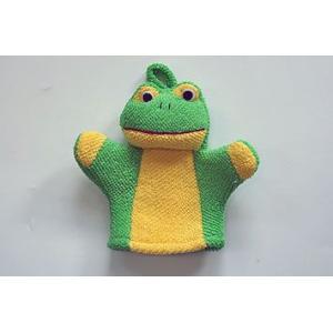 布おもちゃ 布玩具 手ぶくろ人形 バスタイムグローブ どうぶ...