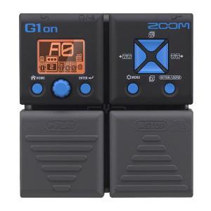 エフェクト、機能、サウンド、全てが驚異的な 革新的モデルがZOOMから登場!G1onには、ディ スト...