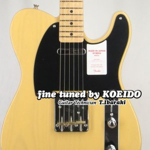 Fender Made in Japan Hybrid 50s Telecaster OWB(Fin...