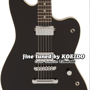 Fender Made in Japan Modern Jazzmaster HH BLK(Fine...