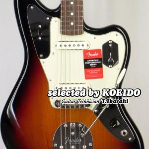 Fender USA American Professional Jaguar 3TS RW(sel...