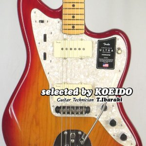 Fender USA American Ultra Jazzmaster MN Plasma Red...
