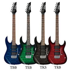 エレキギター 初心者セット Ibanez GRX70QA アクセサリーキット付きエレキギター初心者セ...