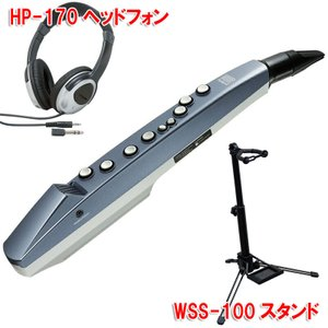 ROLAND Aerophone mini AE-01(WSS-100スタンド、HP-170ヘッドフ...