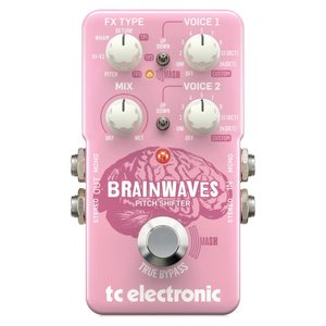 t.c. electronic BRAINWAVES PITCH SHIFTER