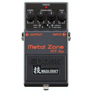 BOSS MT-2W Metal Zone 技 Waza Craft Series Special ...