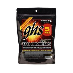 GHS BOOMERS エレキギター弦 5セットパック+ボーナス1セットの合計6セット(定形外郵便発...