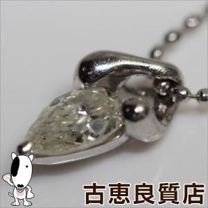 【商品名】Pt ダイヤ0.302ct ネックレス 【素材】Pt850/900 【チェーンサイズ】幅:...