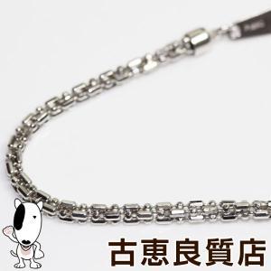 Pt プラチナ デザインカット 10.1g 49cm ネックレス あすつく/MN1252/中古|koera