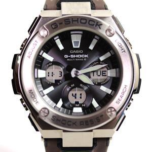 CASIO カシオ ジーショック G-SHOCK Gショック メンズ腕時計  Gスチール  GST-W130L-1AJF アナデジ マルチバンド6 電波ソーラー /中古/MT2908|koera