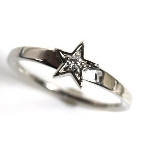 PT900 プラチナ ダイヤモンドリングファッションリング レディース指輪D0.053 4.4g サイズ15号/中古/MR3208|koera