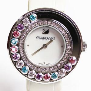 スワロフスキー Swarovski レディース腕時計 ラブリークリスタルズ クォーツ 5183955 /中古/MT2744|koera