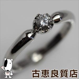 4℃ ヨンドシー Pt950 リング 指輪 サイズ6号 一粒ダイヤ/中古/質屋出店/あすつく|koera