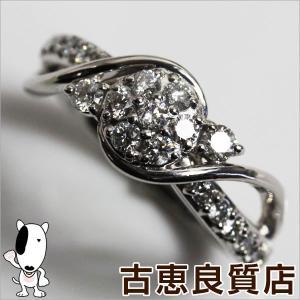 Pt プラチナ リング 指輪 Pt900 D.0.55ct 8.1g サイズ12.5号 ダイヤ MR1023|koera