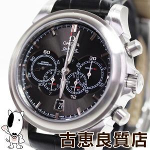 オメガ OMEGA デ ビル DE VILLE 4カウンター コーアクシャル 自動巻き クロノ メンズ 腕時計 422.13.41.52.06.001/あすつく/MT1303//中古 koera