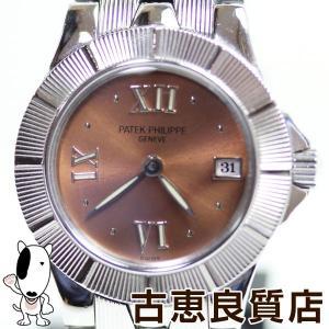 PATEK PHILIPPEパテックフィリップ『ネプチューン』4880/1A レディース 腕時計 ピンク系文字盤/あすつく/H30-8-20電池交換済み/MT1301//中古/美品 koera