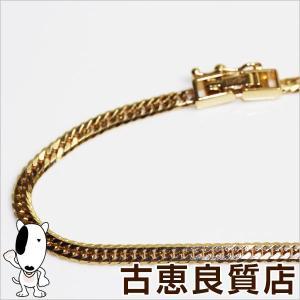 K18 W6面喜平 ネックレス  キヘイ 10.2g 50cm ゴールド MN1187|koera