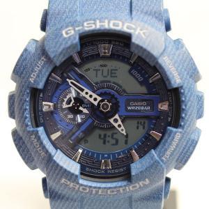 CASIO カシオ G-SHOCK Gショック 腕時計 メンズ デニムカラー DENIM GA-110DC-2AJFあすつく/中古/美品/MT1287|koera