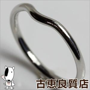 ティファニー Pt 950 リング 指輪 TIFFANY&CO. ティファニー V字  プラチナ サイズ約20.5号/中古/質屋出店/あすつく|koera