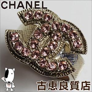 CHANEL シャネル ラインストーン リング 12.5号ココマーク/中古/質屋出店/あすつく/値下げ|koera