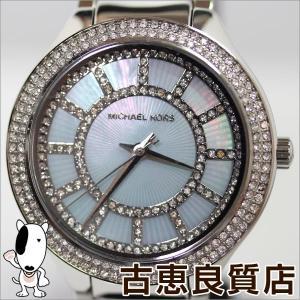 新品/未使用品/マイケルコース MICHAEL KORS KERRY ケリー MK3395 マザー・オブ・パール×シルバー腕時計 レディース/MT427/買取品/質屋出店|koera