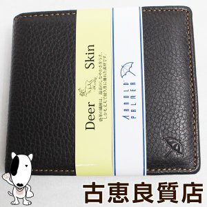 アーノルドパーマー ARNOLD PALMER AP-S112 2つ折り財布 ブラウン/質屋出店あすつく/新品・未使用品 /買取品|koera