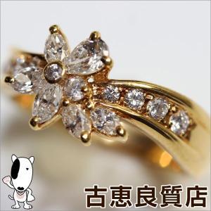 商品コード:go13-11-7  【商品名】ゴールド ダイヤ リング MR467 【素材】K18 【...