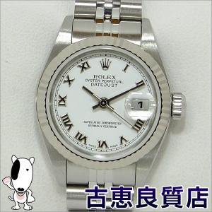 ROLEX デイトジャスト レディース  ホワイトローマン 腕時計 自動巻き 79174 A863***(hon)|koera